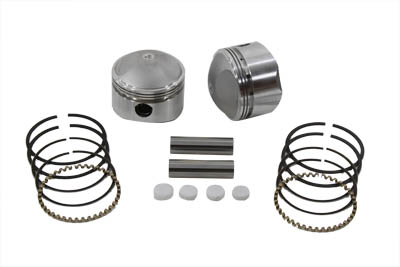 "74/"" FL-FLH Piston Set .020 Oversize,for Harley Davidson,by Wiseco"