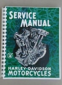 Knucklehead service manual EL FL 1936-1947