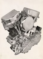 1948 PanHead engine