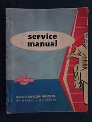 panhead factory service manual  1958-1959 model years
