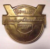 anniversary fender tip emblem