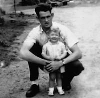 W-L-Klotz and daughter joann
