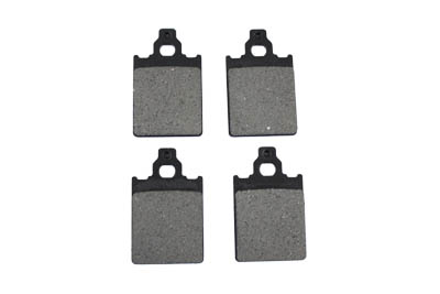 Dura Ceramic Brake Pad Set 4 Piece Special application for GMA inside and outside brake pulley