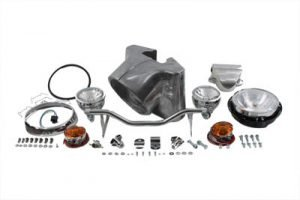 "7"" Headlamp Cowl Kit Polished"