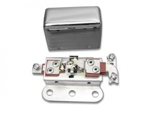 Solid State 6 Volt Relay with Smooth Chrome Cover