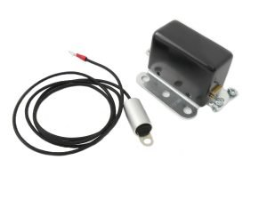 Solid State 6 Volt Relay with Black Cover