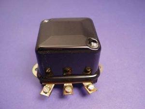 Black 6 Volt Mechanical Regulator