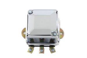 Chrome 6 Volt Mechanical Regulator