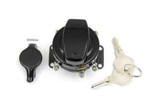 Fat Bob Ignition Switch with 5 Terminals Gloss Black