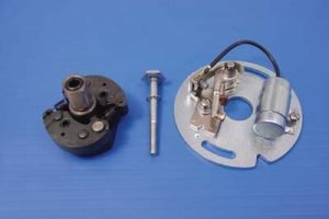Ignition Advance With Points Plate Assembly