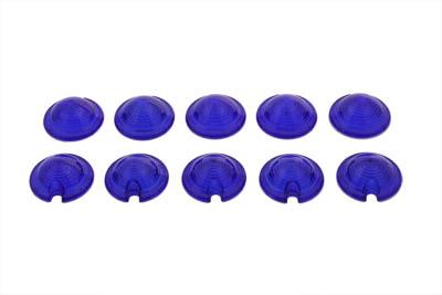 Bullet Style Marker Lamp Blue Lens