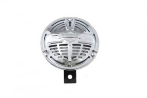 "Classic 5-3/4"" Early Wing Grill 12 Volt Horn"