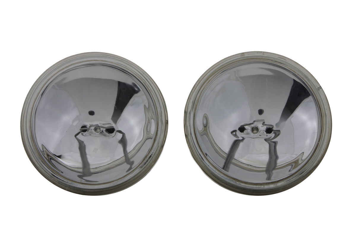 "Clear Sealed Beam 4-1/2"" Spotlamp Set"