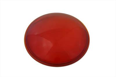 Red Glass Spotlamp Lens