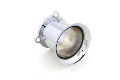 Wyatt Gatling Velo-Dome Velocity Stack S/&S Super E Carburetors Chrome
