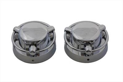 Satellite Style Gas Cap Cover Set