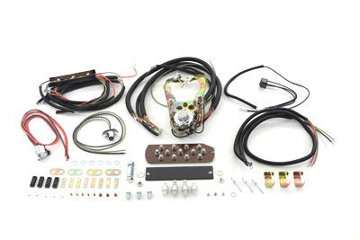 three light dash base wiring harness assembly justpanhead com electra glide wiring harness three light dash base wiring harness assembly fl 1962 1964