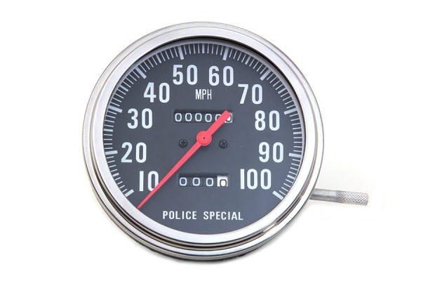 Police Speedometer 2:1 Ratio