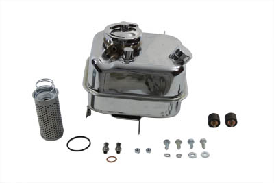 Chrome Oil Tank Kit