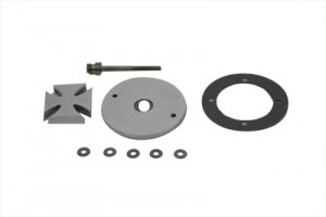 Chrome Maltese Spinner Ignition System Cover