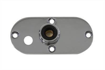 Oval Inspection Chrome