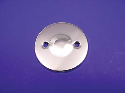 Dimpled Inspection Cover Chrome