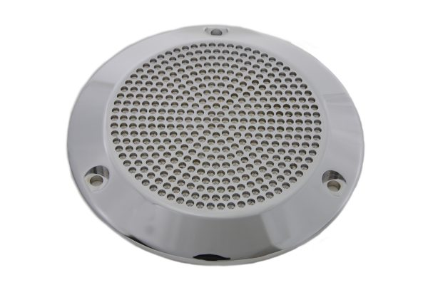 Chrome Perforated Derby Cover