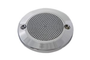 Chrome 2-Hole Perforated Ignition System Cover