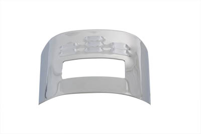 Chrome Tail Lamp Visor Louvered