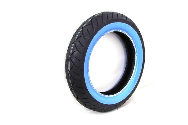 "Metzeler ME888 Marathon MT90B x 16"" Front Wide Whitewall Tire"