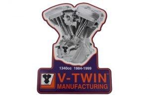 1340 Evolution Engine Plaque