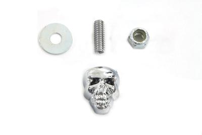 Chrome Deco Skull