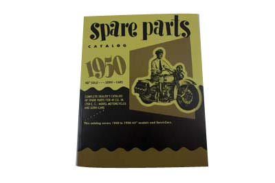 Spare Parts Book for 1940-1952