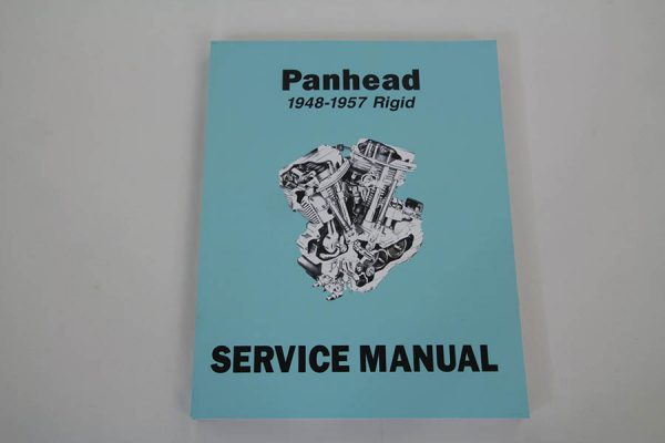 Factory Service Manual for 1948-1957 Panhead and Rigid