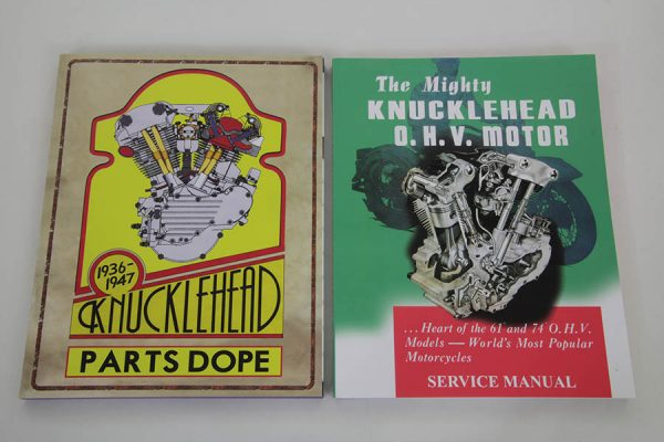 Factory Service Manual for 1940-1947 Knucklehead