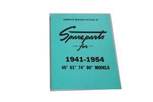 Spare Parts Book for 1941-1954 Side Valve Models