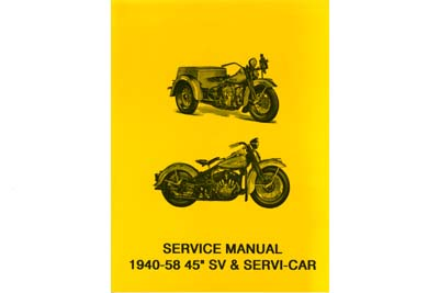 2 Wheeler and Servi-Car Repair Manual