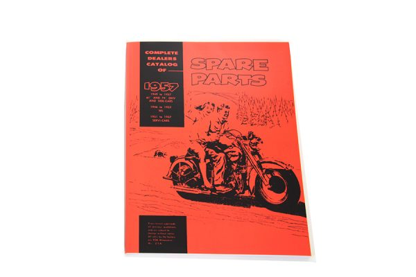 Spare Parts Book for 1949-1957 Panhead