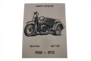 Servi-Car Parts Book