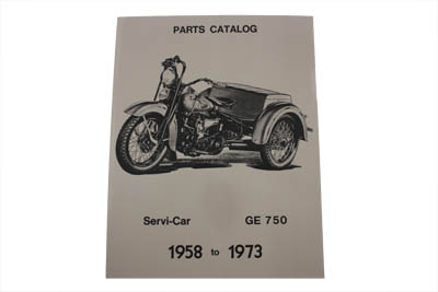 Servi-Car Parts Book