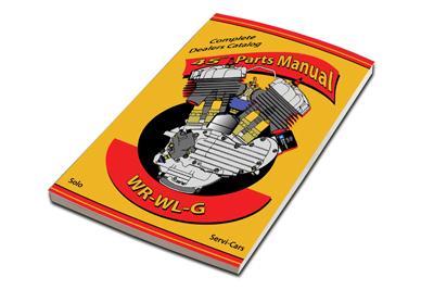 45 WLA Parts Book