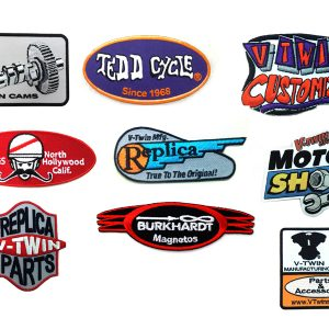 V-Twin Manufacturing Brands Patch Series