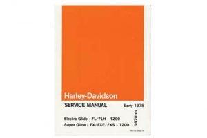shovelhead service manual 1970-1978 FL FX