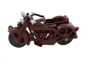Large VL Side Car Toy Cast Iron