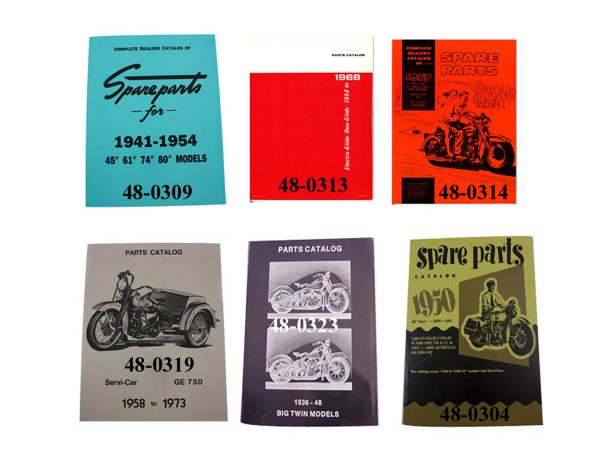 Factory Parts Book Set