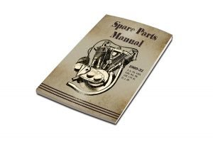 Parts Book for 1909-1932 V-Twins