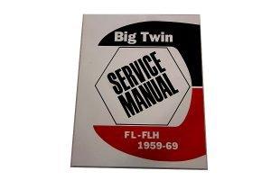 panhead shovelhead Factory Service Manual for 1959-1969 model years
