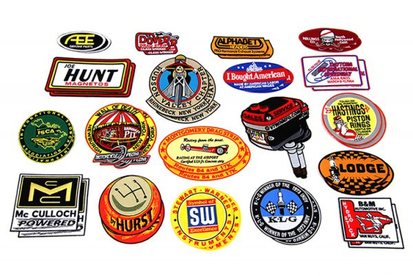 Hot Rod Patch Set