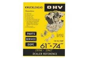 Knucklehead 1936-1947 dealer referemce