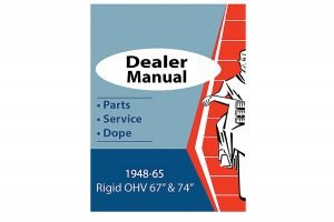 Service and Parts Manual for 1948-1965 Panhead Models